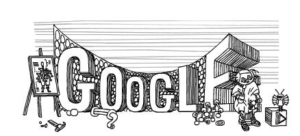 Stanislaw Lem Google Doodle 0