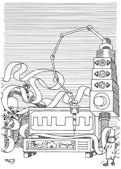 Stanislaw Lem Google Doodle 2
